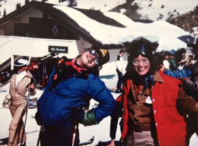 Andy and Me, A-Basin, 1982